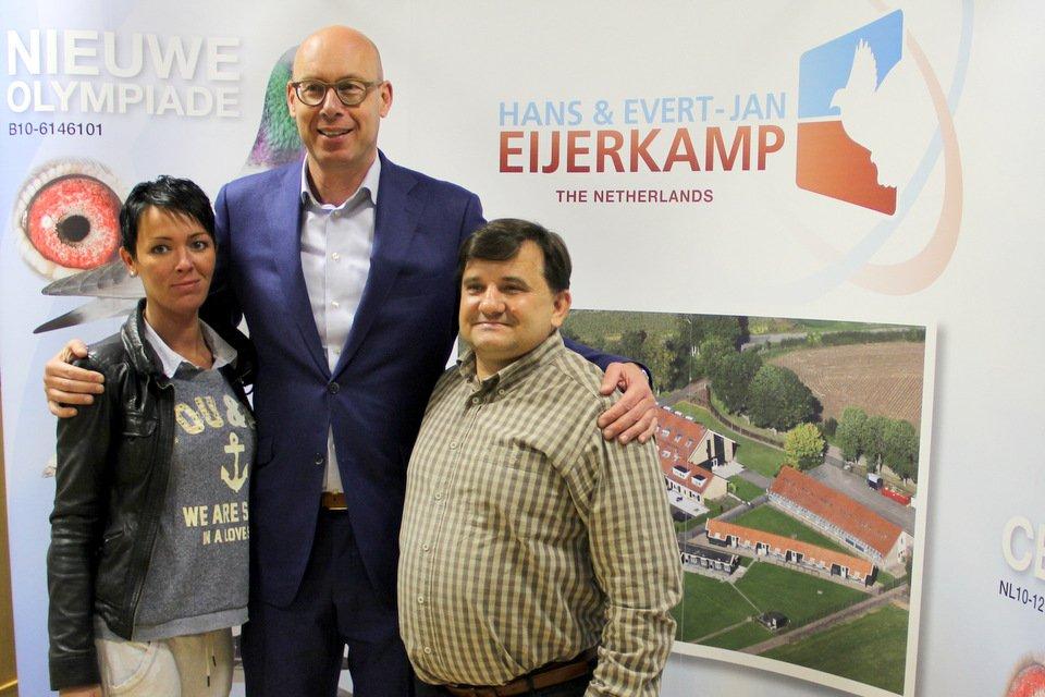 Arthur Pawelek (Poland) and Evert Jan
