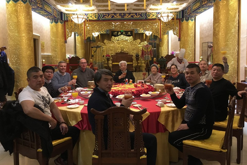 Visit to China by Evert Jan and Henk Jurri�ns February 2018