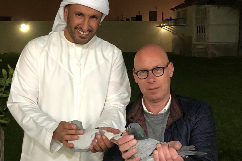 Visit of Evert Jan to old friends in Dubai 2019