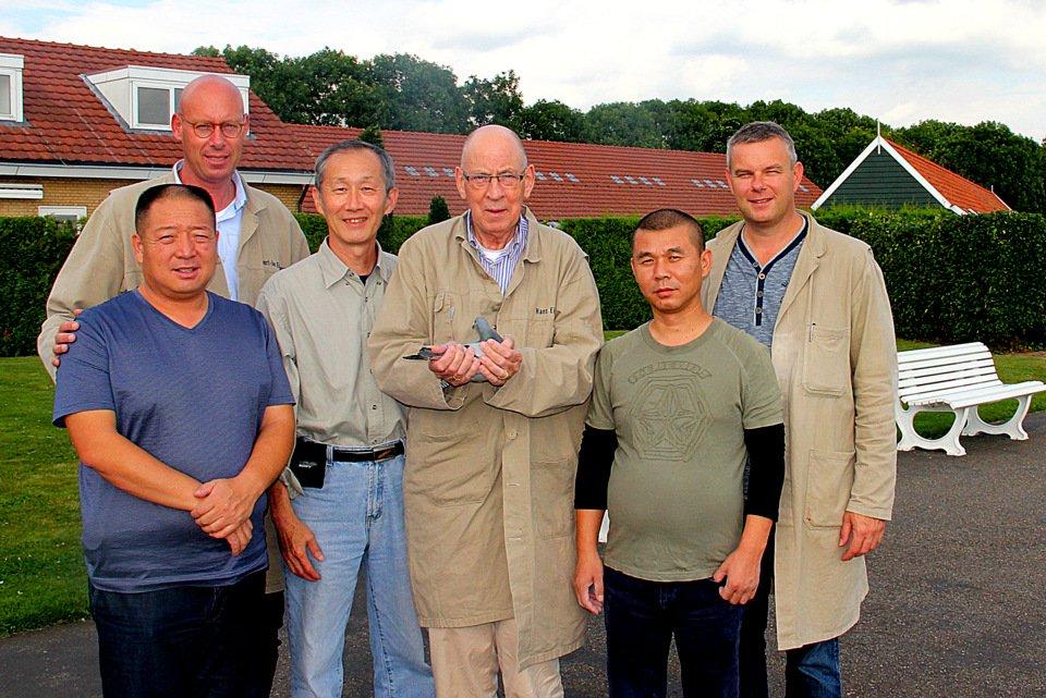 Visitors from China Mr Xi Mr Wang and Stuart Chu