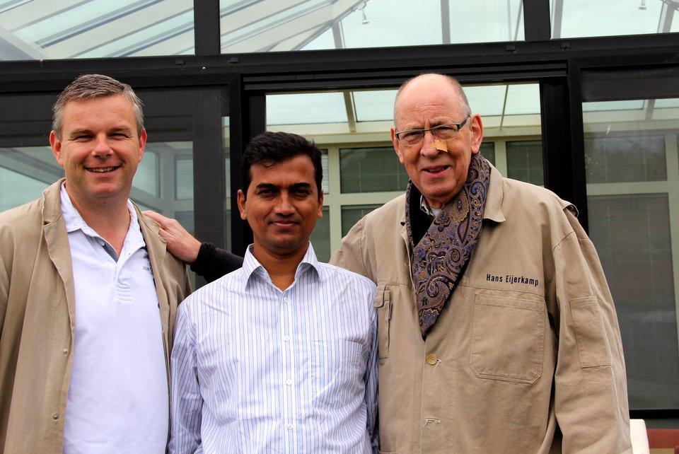 Visitor Mr. Mynuddin Ahmed from Bangladesh