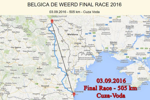 1. Black Sea One Loft Race 2016 H. en E.J. Eijerkamp