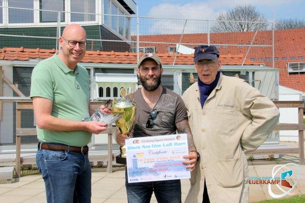 Black Sea One Loft Race winner comes back to Brummen