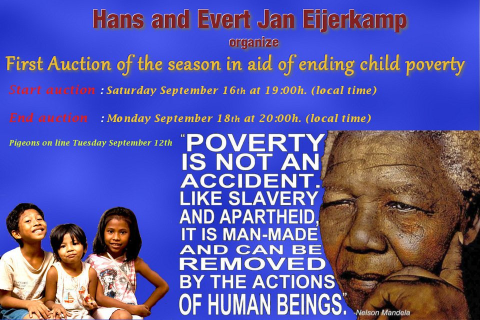 First Auction of the season in aid of ending child poverty in Indonesia