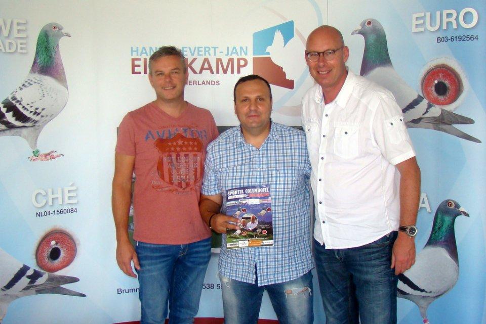 Daniel Dobrescu from Romania visiting us
