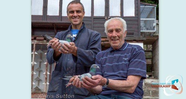 Gareth en Stuart Treharne, Nantyglo - UK winnen duivenvoucher €200,= van de maand juni 2014