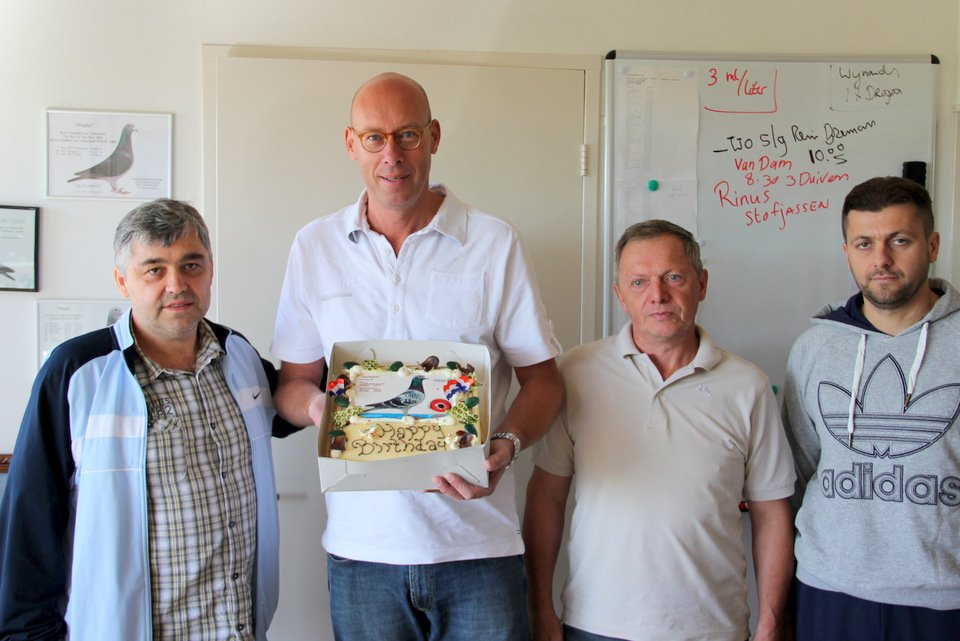 Birthday Evert Jan with Croatian guests