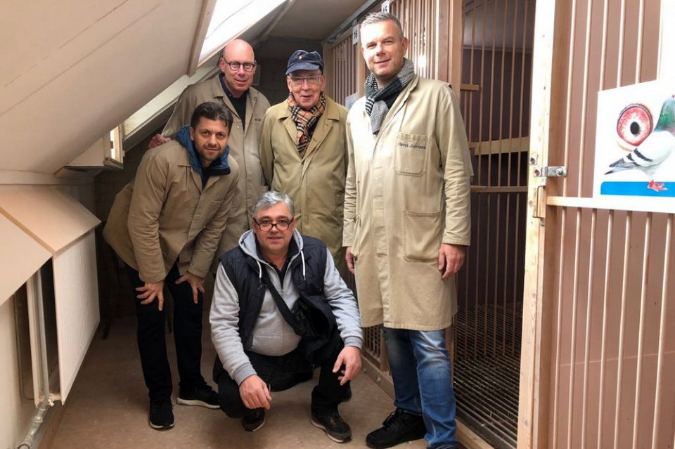 Ertan Fetahovic and Branko Gorupec visiting Hans and Evert Jan Eijerkamp in 2018