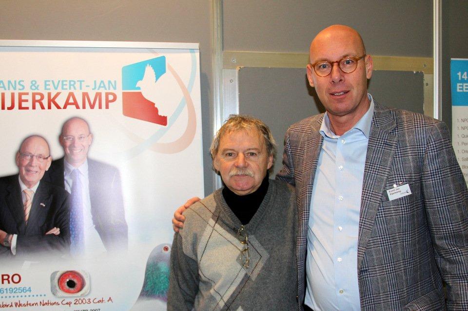 Evert-Jan with sportsfriend Zajaczkowski from Poland