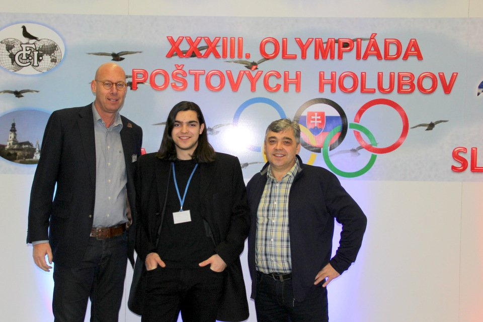 Evert-Jan with Marko and Branko Gorupec
