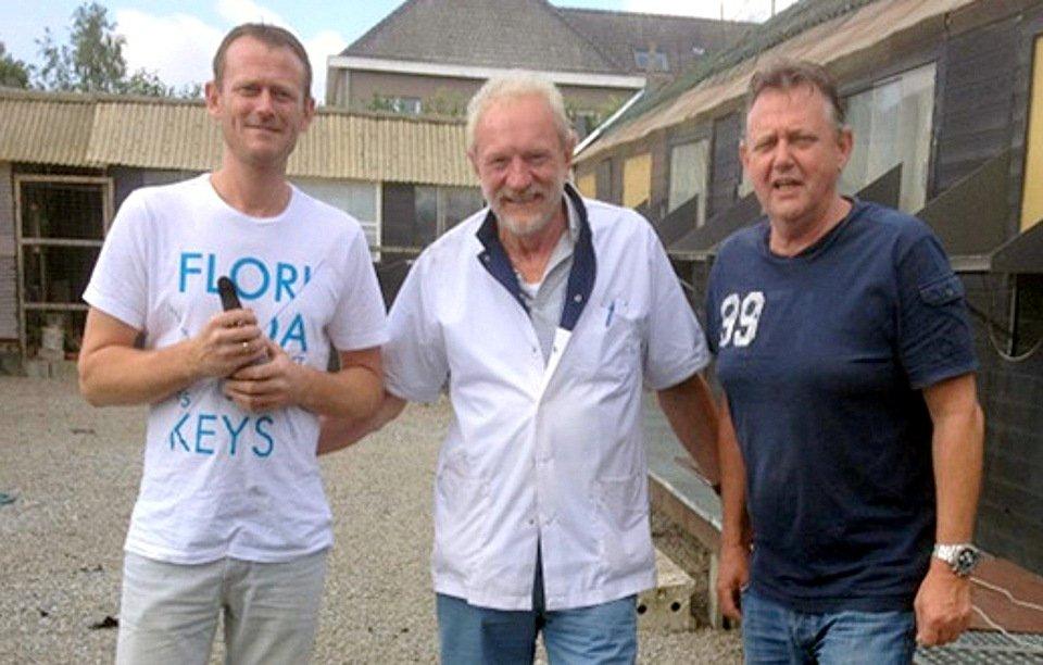 Klaas Hoekstra, Urk, winner Sittard against 21.629 pigeons of Section 11