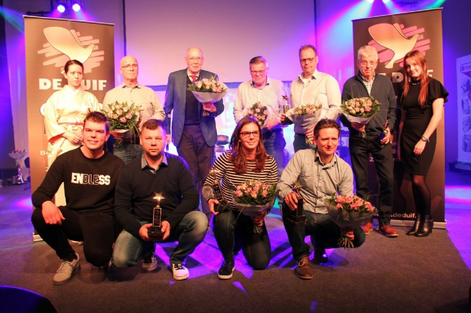 Photo presentation award ceremony Gouden Duif 2018