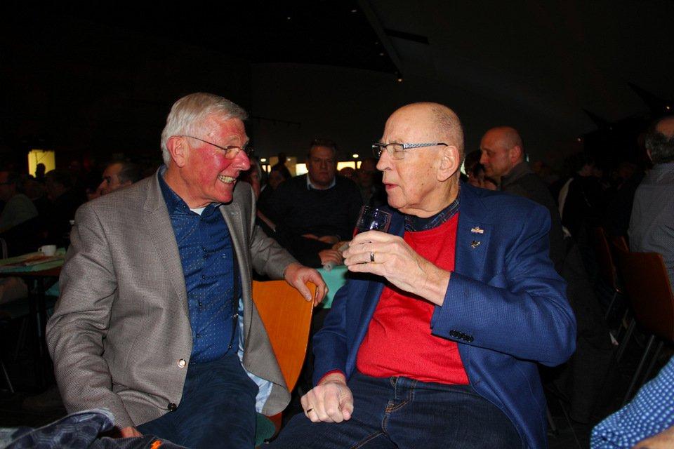 Gouden duif 2017: Willem de Bruijn and Hans Eijerkamp