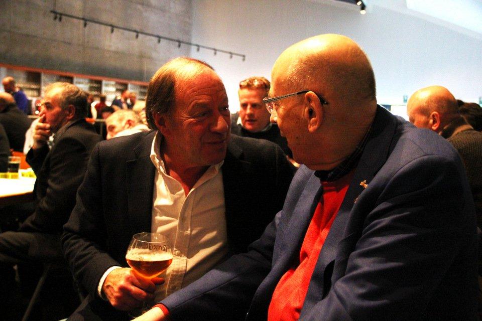 Gouden duif 2017: Henk de Weerd and Hans Eijerkamp