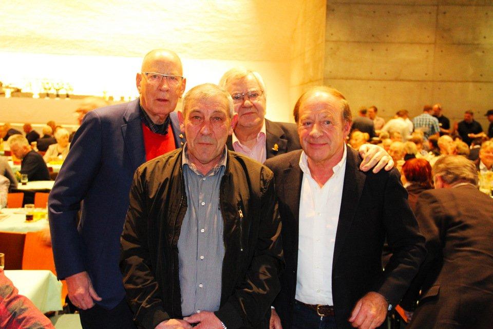 Gouden duif 2017: Hans Eijerkamp, Karel Ceusters, Dirk Zoland, Henk de Weerd