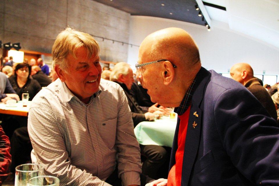 Gouden duif 2017: Leo Broeckx and Hans Eijerkamp