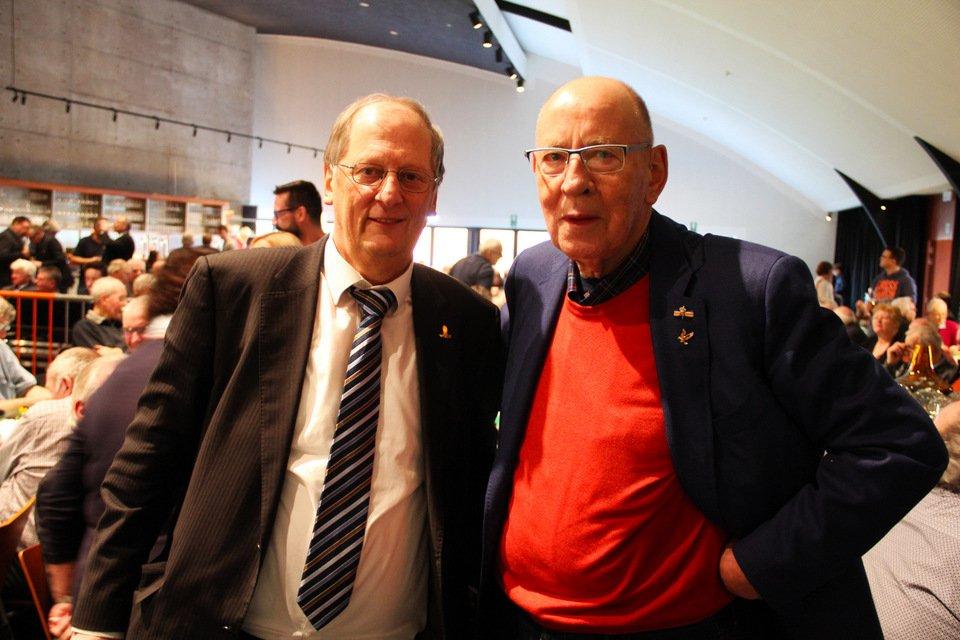 Gouden duif 2017: Jan Hermans and Hans Eijerkamp