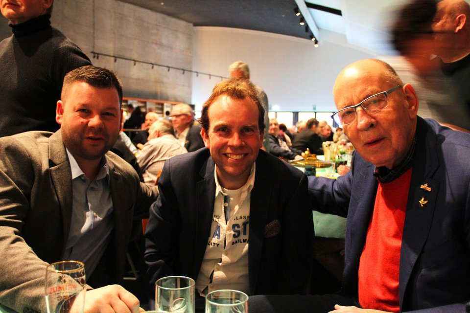 Gouden duif 2017: Oliver Sabol, Bas Verkerk, Hans Eijerkamp