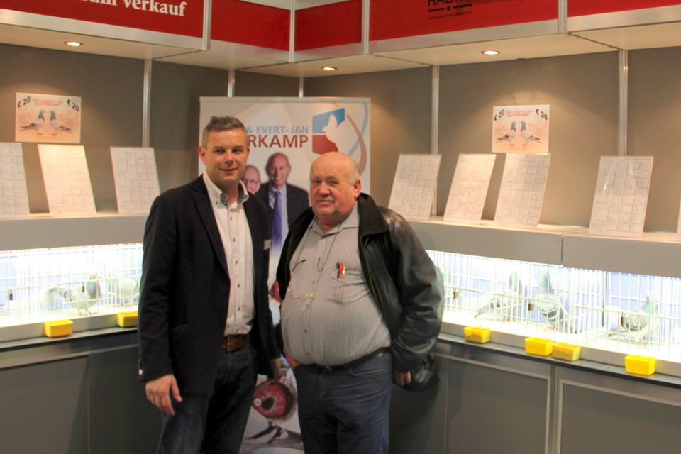 Henk with Johann Kaintz from Austria