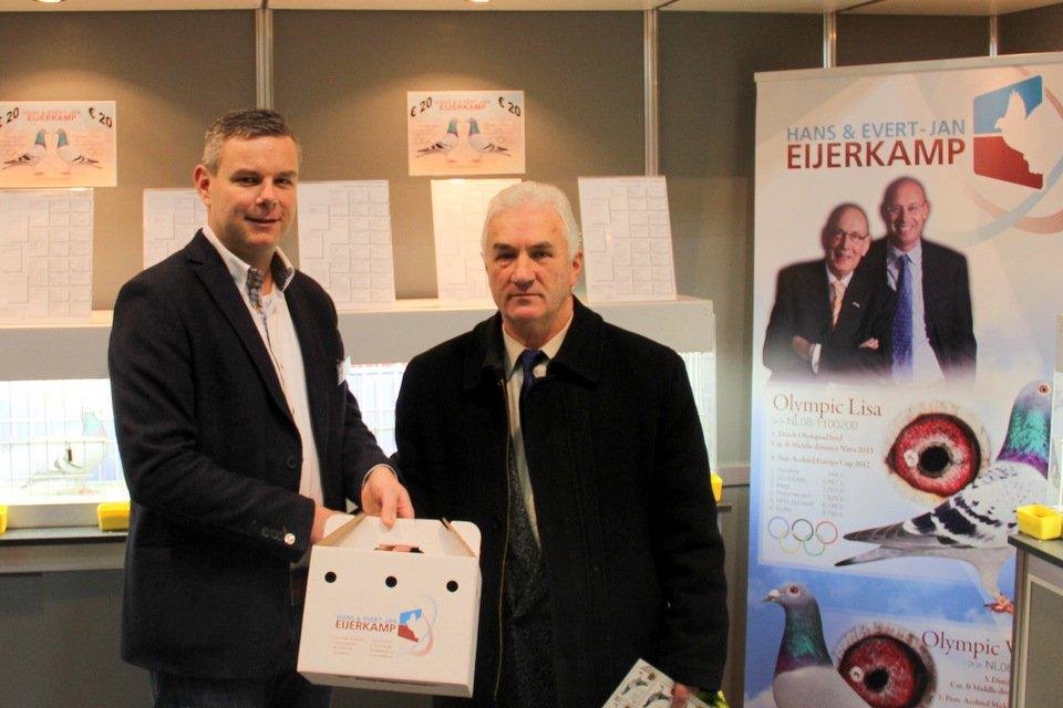 Henk with Rudi Sedlak