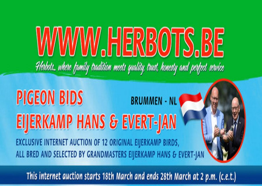Exclusive Internet auction at Herbots