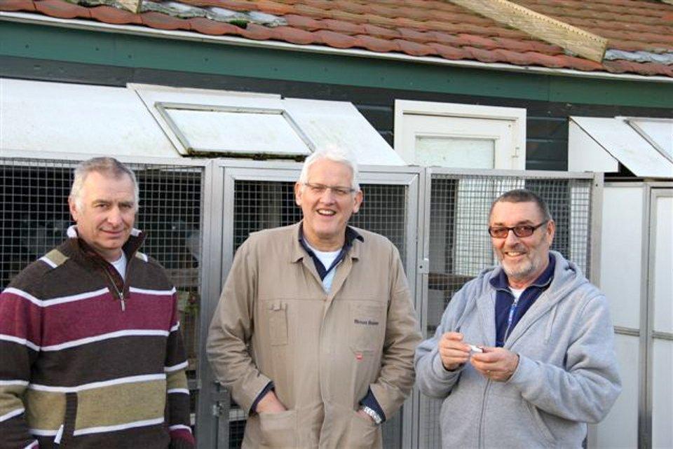 Math Schoordijk and Anton Schulz visiting Eijerkamp