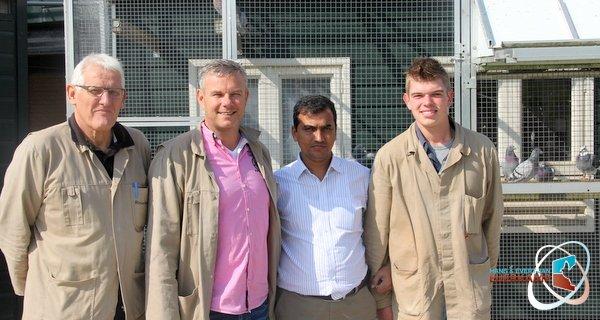 Mynuddin Ahamed Bangladesh visiting Eijerkamp
