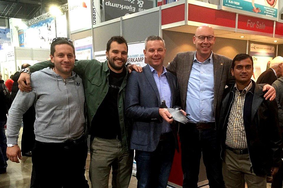 Petar Radolovic (Croatia), Rocco Toscani (Italy), Henk Jurri�ns, Evert Jan and Mynuddin Ahamed (Bangladesh)