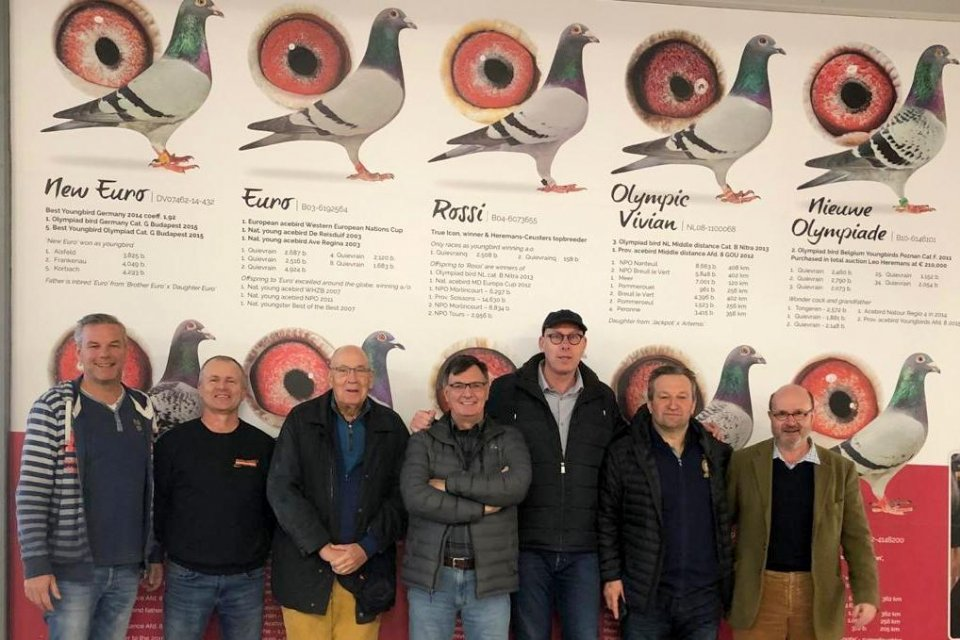 Oscar DeVries and friends (Canada) visit Eijerkamp February 2019