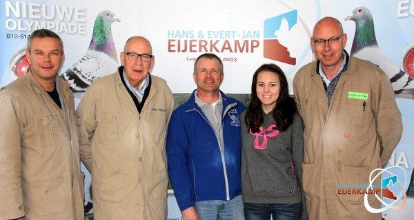 Oscar DeVries and daughter(Canada) visiting Eijerkamp