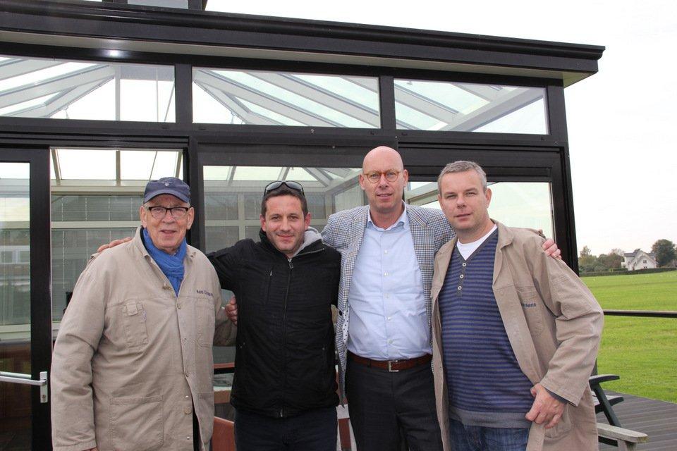 Petar Radolovic visiting Eijerkamp