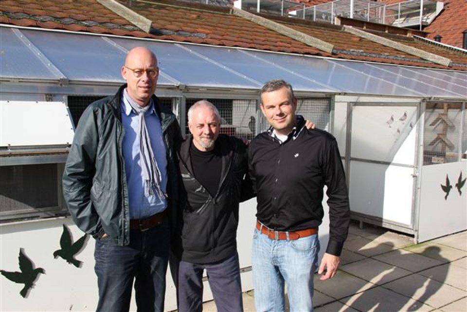 Ron Hillcoat (GB) visits Eijerkamp in Brummen