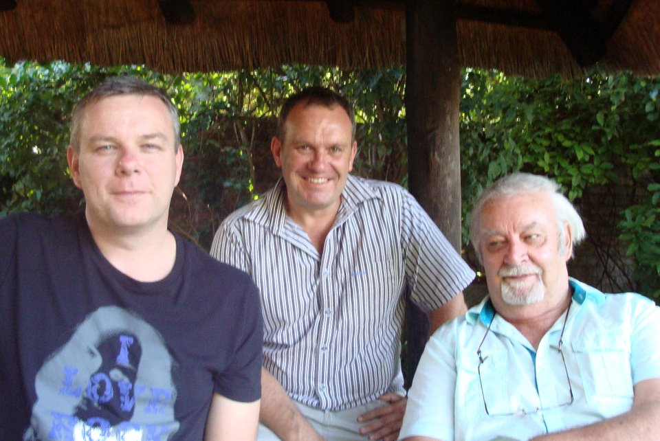 Henk Jurriens, Evan Joubert and Theo Verkerk