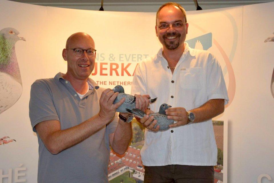 Zolt Pinter visiting Eijerkamp