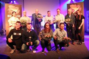 Photo presentation award ceremony Gouden Duif 2018