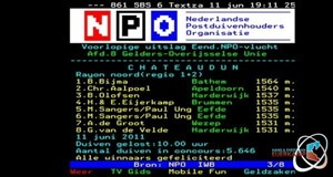 Teletext again, this time on Chateaudun